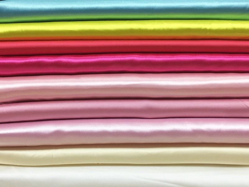 vải phi bóng là gì