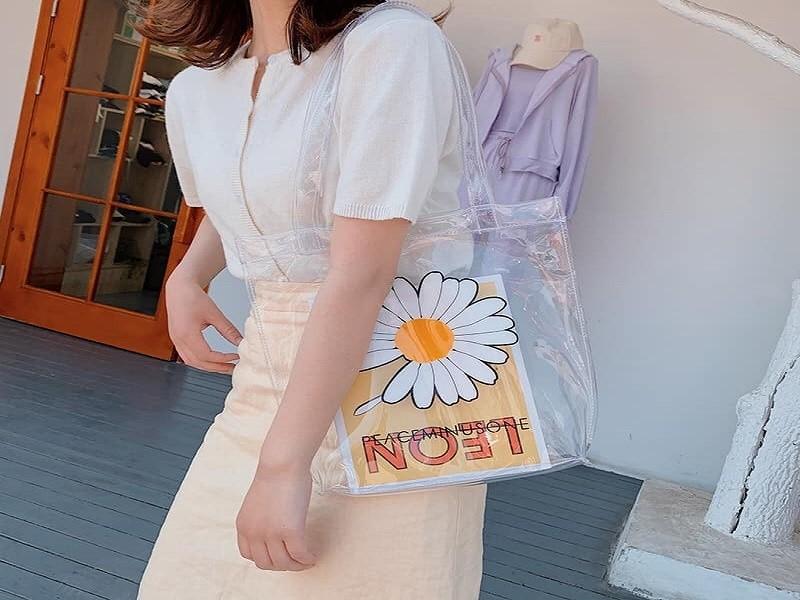 túi tote trong suốt thời trang